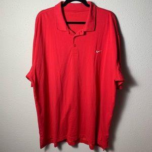 NIKE Men's XL Red Polo